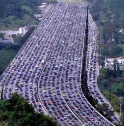 التكدس المروري