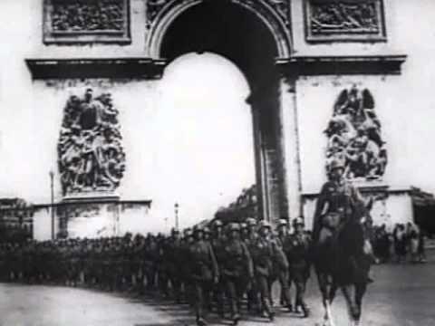 مرور القوات الألمانية بقوس النصر