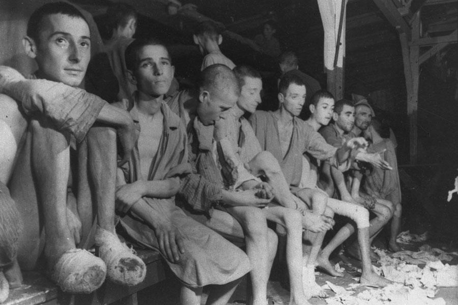 يهود روس فى معسكرات الهولوكوسب