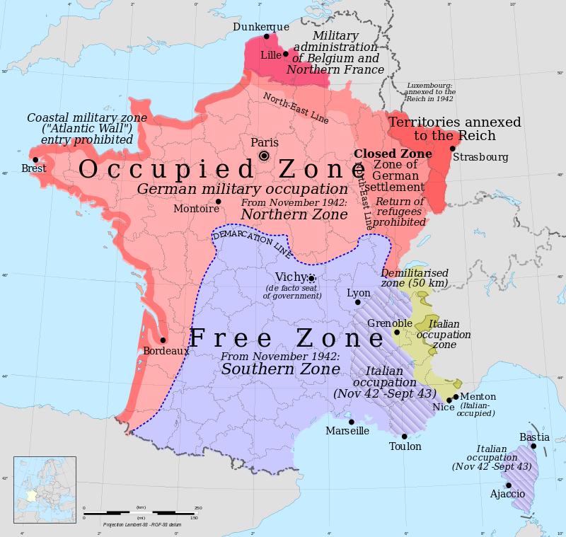 تقسيم فرنسا