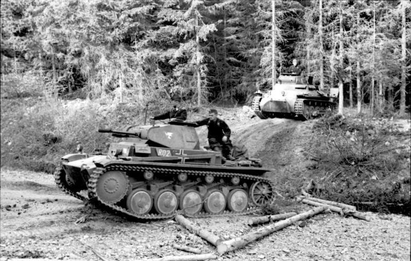 اجتياز القوات الألمانية غابات الأردين