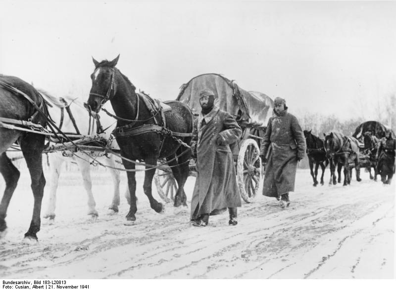 القوات الألمانية عند موسكو