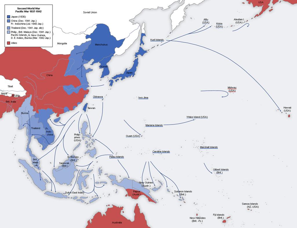الانتصارات اليابانية