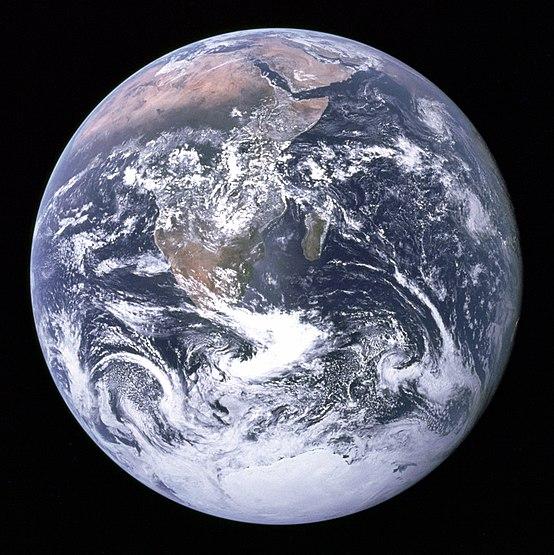 صورة الأرض من الفضاء
